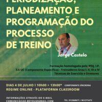 FUTEBOL PERIODIZAÇÃO, PLANEAMENTO e PROGRAMAÇÃO do PROCESSO de TREINO